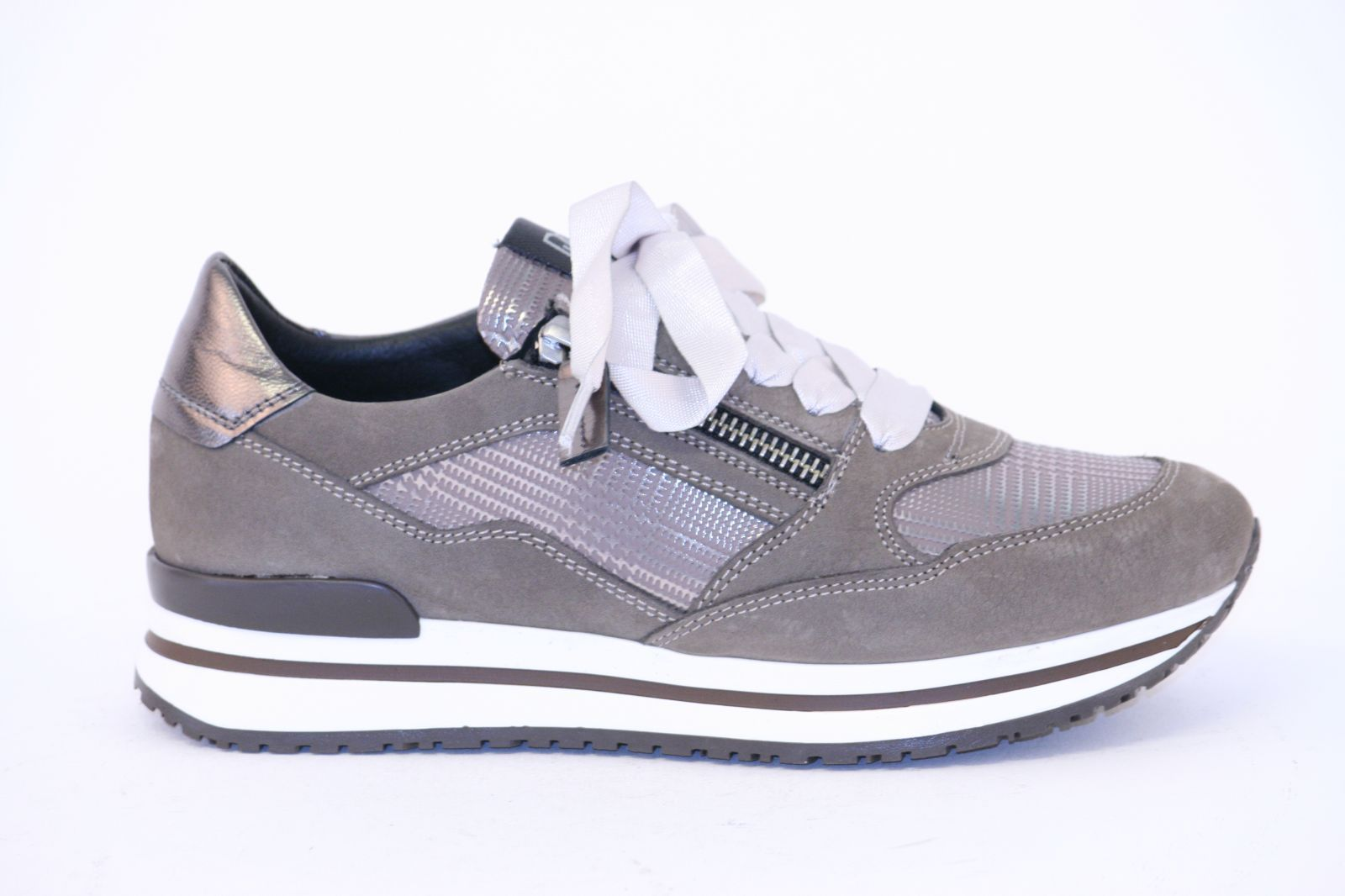 DL Sport Sneaker Taupe dames (4888