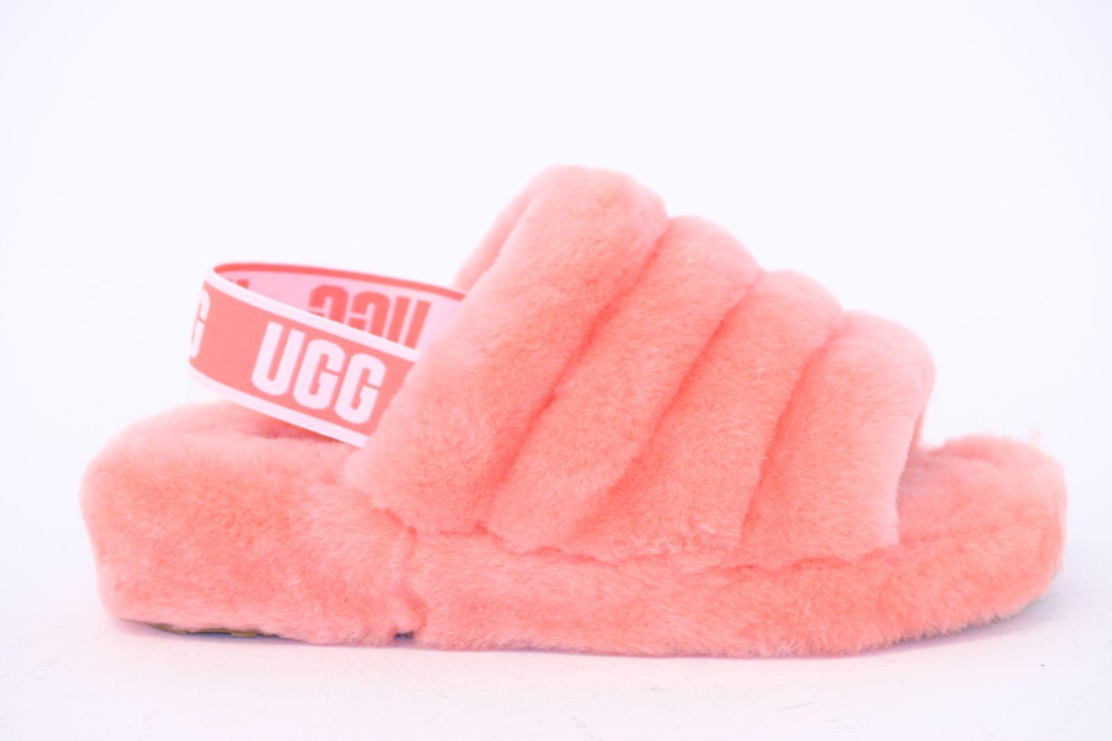 ugg fluff rouge